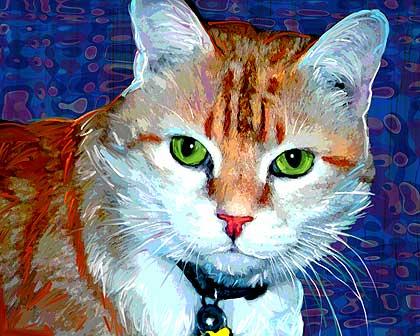 Art Paw Custom Painterly Style Pet Portraits