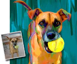 Art Paw Custom Pet Portraits
