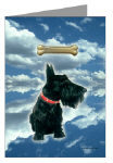 scottish terrier greeting cards