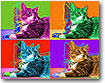 warhol Pop Art Pet art